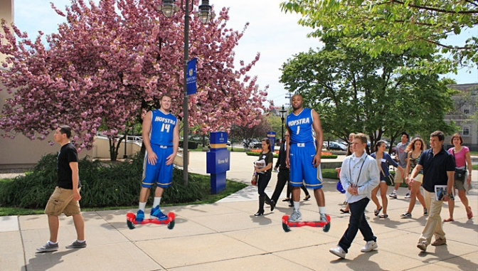 Point-Counterpoint: The Hofstra Hoverboards