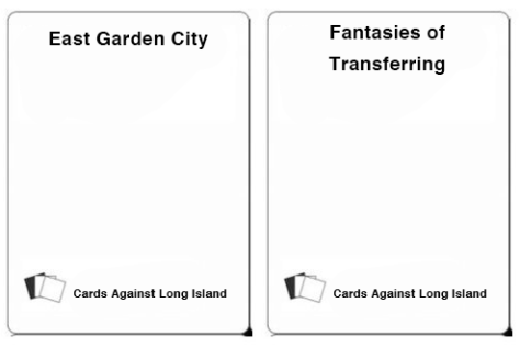 whitecards