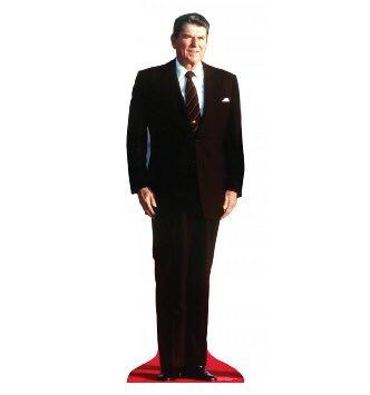 Hofstra Republicans' Ronald Reagan Cutout In Voyeurism Scandal