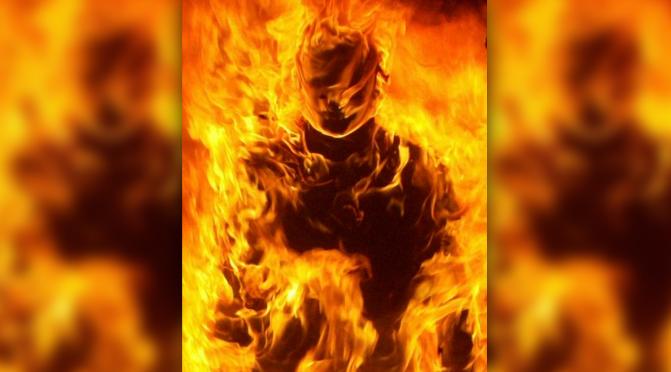 """""""420 Blaze It,"""" Says Burning Monk"""