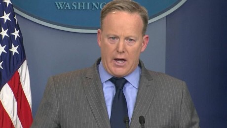 "Sean Spicer: ""I Just Work Here, Okay?"""