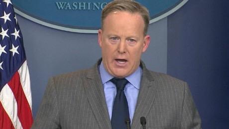 "Sean Spicer: ""I Just Work Here, Okay?"""